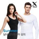 [기어엑스] 냉감 언더레이어-일반여름 상의-남자 여성