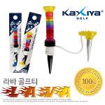 [KAXIYA] 6개의 관절로 구성된 비거리 향상에 효과적인 라바 골프티 1세트