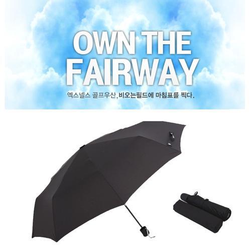 엑스넬스코리아 무표 3단 골프 우산 로고인쇄가능