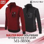 [MASTER BEAR] 마스터베어 하프집업 포켓 니트셔츠  Model No_M1-5B506