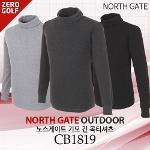 [NORTH GATE] 노스게이트 기모 긴 목티셔츠  Model No_CB1819