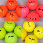 [컬러선택]볼빅 컬러 특A등급 로스트볼/오렌지/핑크/연두/옐로우/선택10알