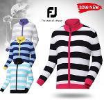 FJ 2016 S/S 풋조이 스트라이프 스웨터 자켓