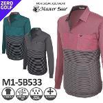 [MASTER BEAR] 마스터베어 하프스트라이프 남성티셔츠 Model No_M1-5B533