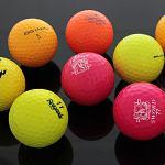 노랑형광 컬러 모음 A급 로스트볼 골프공 컬러볼 모음