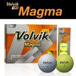 볼빅 Magma 3피스 골프공 1DZ (12알)(화이트,옐로우)