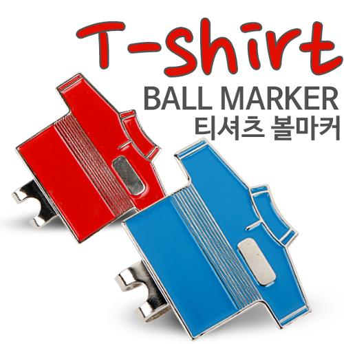 [KAXIYA] 골프 티셔츠 모양 디자인 골프 볼마커