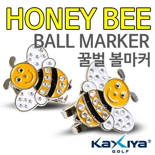 [KAXIYA] 꿀벌 모양 디자인 골프 큐빅 볼마커