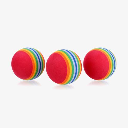 [KAXIYA] 실내에서 안전하게 연습 가능한 스펀지/플라스틱 연습볼 3세트