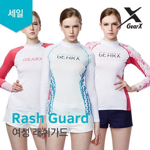 [기어엑스] 래쉬가드-여자 여성 수영복 세일