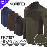 [MOUNFIELD] 마운필드 하프 집업 패턴 셔츠 Model No_CB2007