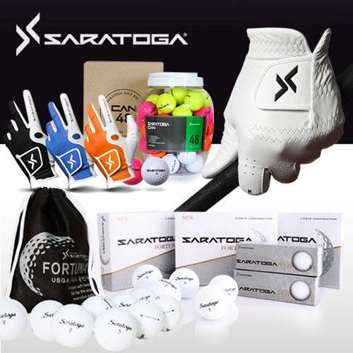 [사라토가] 합피,양피 골프장갑,비거리 전용 골프공