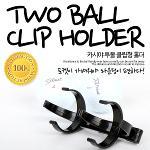[KAXIYA]★해외라운딩 필수용품★ 골프공 투볼 클립형 홀더