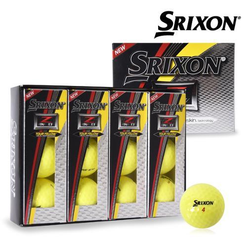 스릭슨 Z-STAR 5 XV 골프공 골프볼 칼라볼 옐로우볼 골프용품 필드용품 제트스타5 XV Srixon