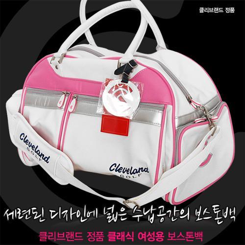 클리브랜드 정품 클래식 여성용 보스톤백/옷가방