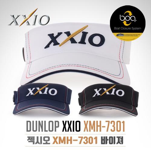 [2017년신제품]던롭 젝시오정품 XMH-7301 보아 자동사이즈조절 썬바이저 썬캡 모자