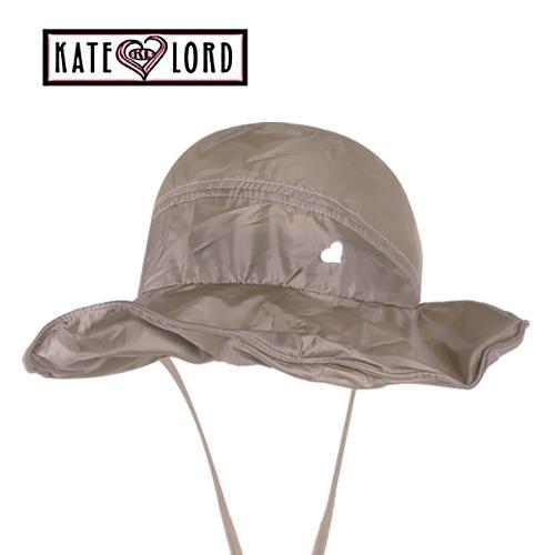 케이트로드 메쉬 포인트 배색 여성 벙거지캡 골프모자