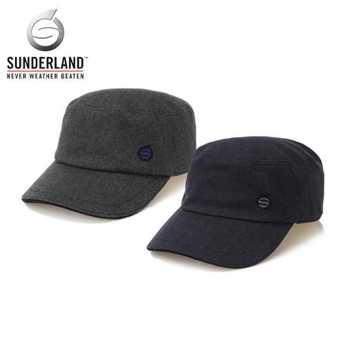 선덜랜드 SUNDERLAND 남성 겨울 방한 면소재 군모스타일 속귀마개 모자 - 16741CP54