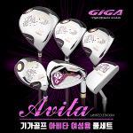 [2018년형-日本産]기가골프正品 AVITA 아비타 여성용 풀세트+바퀴달린캐디백세트