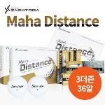 [세트상품] 사라토가 Maha Distance 프리미엄 2피스 골프공 3더즌 36알