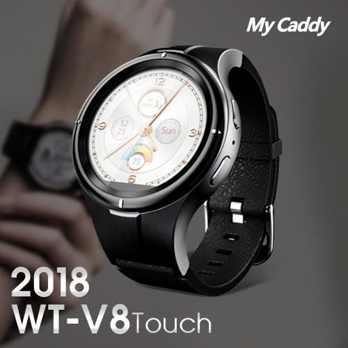 2018 마이캐디 WT V8 터치 스윙모션 GPS 거리측정기