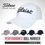 타이틀리스트 아쿠시넷코리아정품 Performance Ball Marker 퍼포먼스 볼마커 캡 골프모자(TH8APBMK-9)