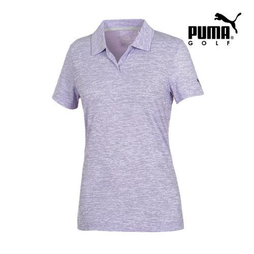 [푸마골프] 여성 Space Dye PK 반팔 티셔츠 57372103_GA