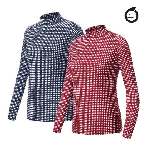 [시즌특가]선덜랜드 여성 냉감 패턴 기능성티셔츠 - 16822TS24