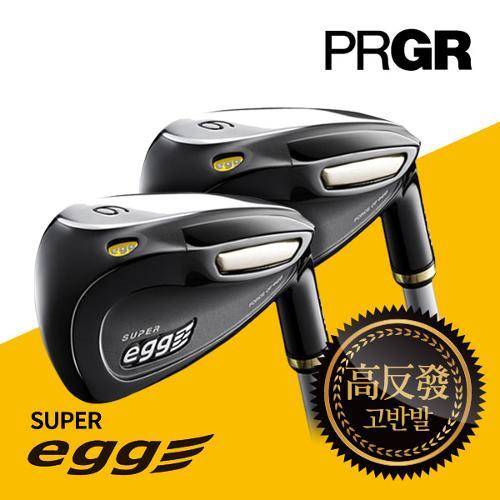 PRGR  SUPER Egg 슈퍼에그 고반발 카본 9 남성 아이언(5~9,P,A,AS,S)_GC