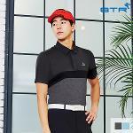비티알 BTR 골프 남성 여름 배색 카라 티셔츠 스윙컷(남) BPT4886M