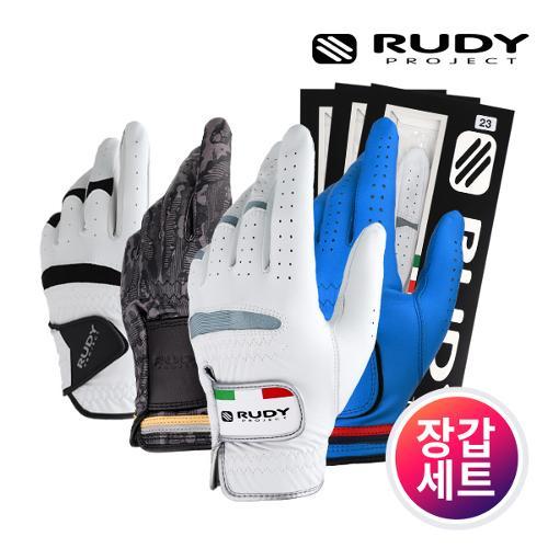 커터앤벅&루디프로젝트 남성 반양피 골프장갑(7장) / 3종 택1