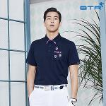 비티알 BTR 골프 남성 여름 반팔 포켓 카라 티셔츠 비망(남) BPT4897M