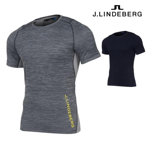 제이린드버그 J.Lindeberg 샌디 멜란지 저지 남성 티셔츠 82MA539025707 골프웨어 골프의류