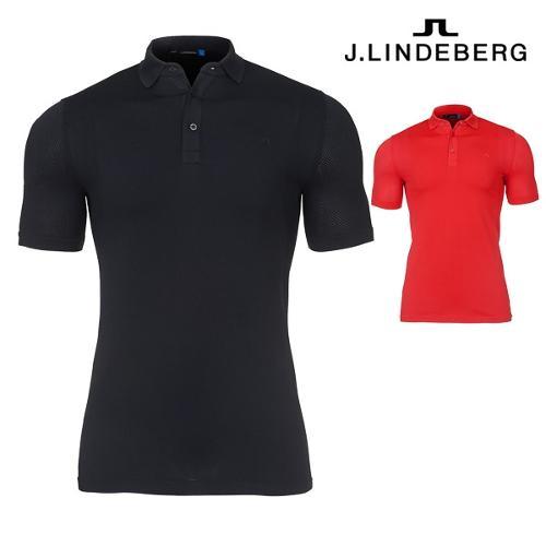 제이린드버그 J.Lindeberg 애쉬 라이트 웨이트 심리스 남성 반팔 티셔츠 82MG538995357 골프웨어 골프의류