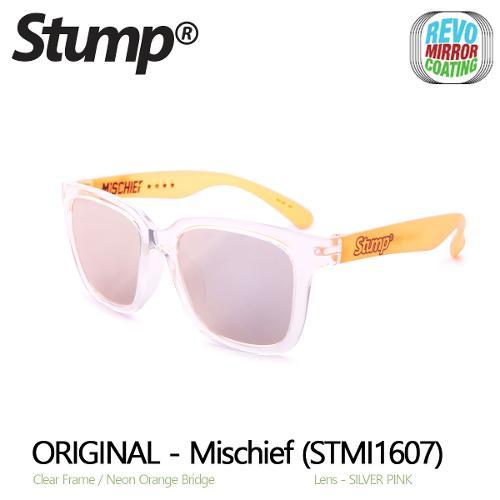미러 선글라스 Mischief (STMI1607)-Silver Pink Mirror