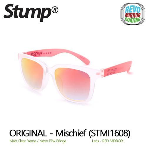 미러 선글라스 Mischief (STMI1608)-Red Mirror