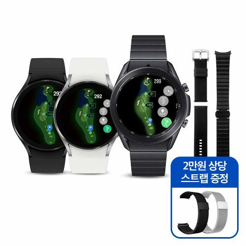 삼성 갤럭시 워치 액티브2 골프 에디션 GPS 거리측정기(2종택1)