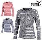 푸마 FW 여성 크루넥 긴팔 스웨터 923491 골프웨어 필드웨어 골프의류 PUMA