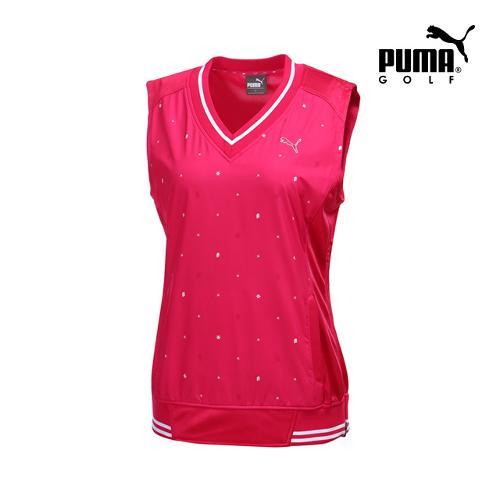 [푸마골프] 여성 무늬 포인트 베스트 923364-02_GA