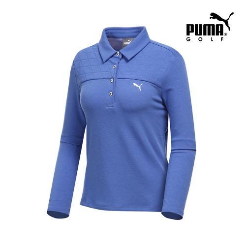 [푸마골프] 여성 퀼팅 카라넥 티셔츠 898531-03_GA