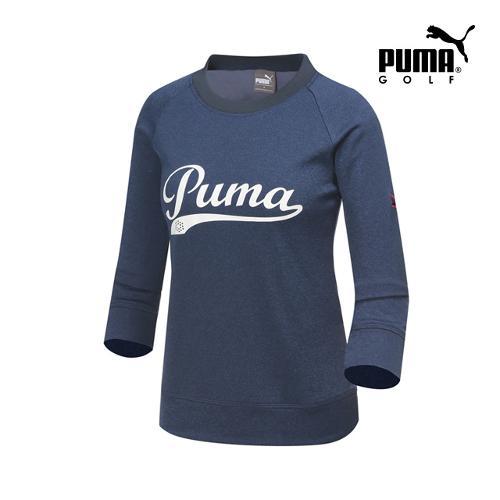 [푸마골프] 여성 패치 포인트 티셔츠 923366-01_GA