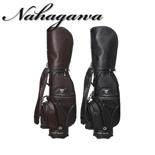나카가와 NAKAGAWA 남성 고품격 프리미엄 악어무늬원단 캐디백/골프백 - NK-213M-CB