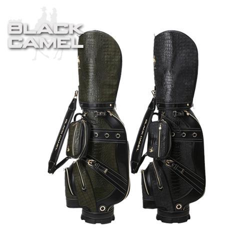 블랙캐멀 BLACK CAMEL 남성 고품격 악어무늬원단 캐디백/골프백 - BCC-100