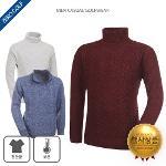 [파크타운 外] 목까지도 따뜻해 보온 목폴라 니트 티셔츠 3종 택일