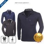 [파크타운] 스타일리쉬한 포켓 기모 카라 PK 티셔츠 3종 택일