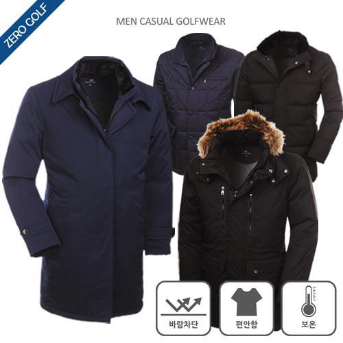 [쟌피엘] 추운 겨울에도 끄떡없는 덕다운 코트/패딩 자켓 6종 택일