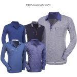 [파크타운] 심플하고 가벼운 PK긴팔/하프집업 하프넥 티셔츠 5종 택일