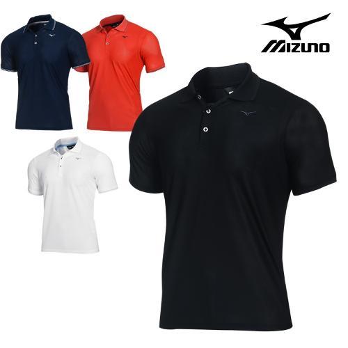 미즈노 베이직 남성 반팔 티셔츠_52MA9A01_골프웨어 BASIC SHORT SHIRTS