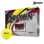 스릭슨 제트스타6 XV 골프공 12알 옐로우볼 골프용품 필드용품 SRIXON Z STAR XV GOLF BALL