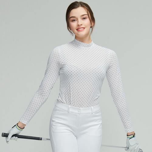 선덜랜드 여성 스판 기능성 냉감티셔츠 - 16922IW62